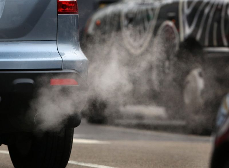 Air pollution heart attack cause