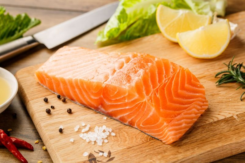 fish high vitamin B12