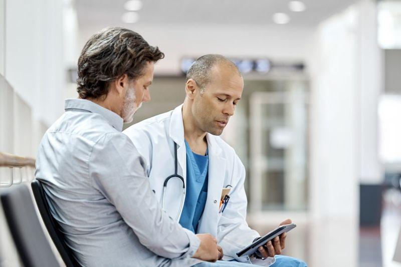 doctor prevention talking