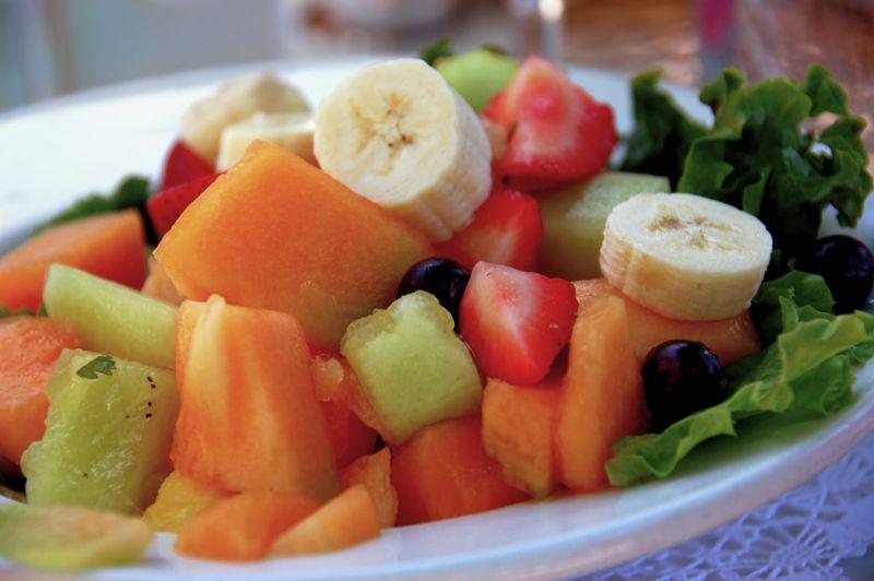 cantaloupe, orange, juice, folic acid