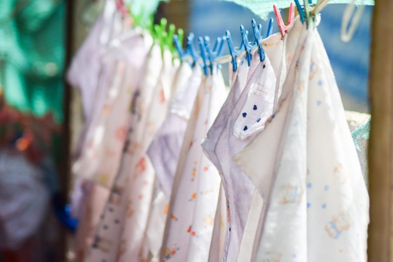 Fewer diapers means more frequent laundry.