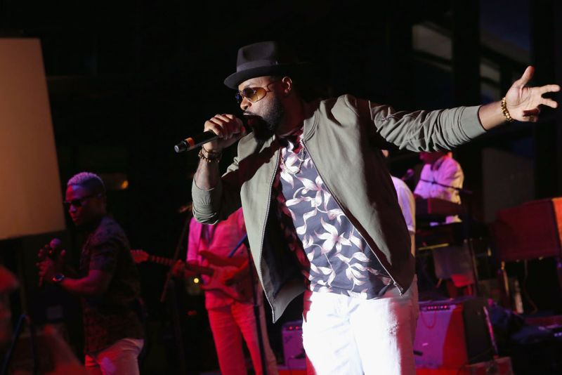 Rick Carey of musical group Baha Men performs onstage at the Buddy Lee Attractions party during the IEBA 2017 Conference on October 16, 2017 in Nashville, Tennessee.