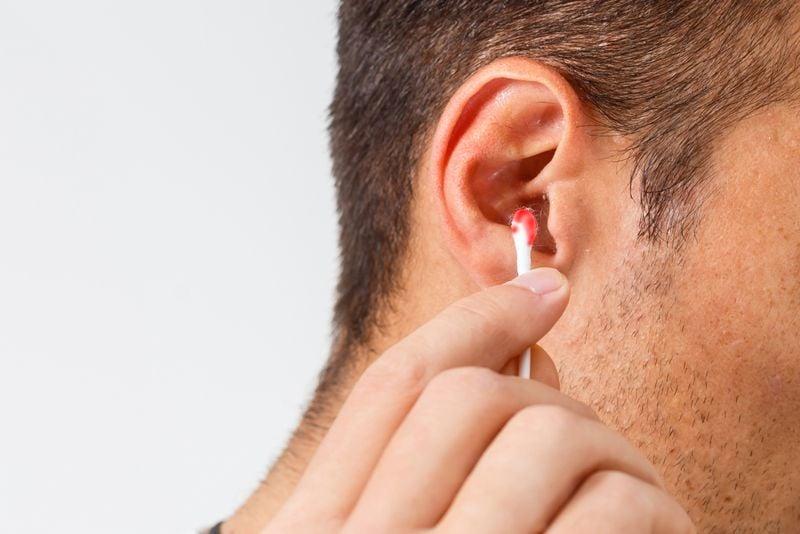 ear infections causing bleeding