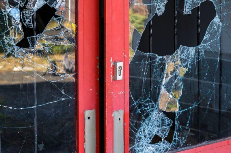 broken window home invasion