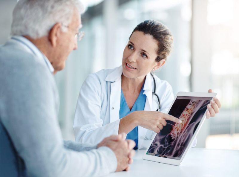 doctor spine scan
