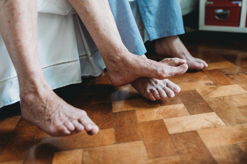 seniors feet