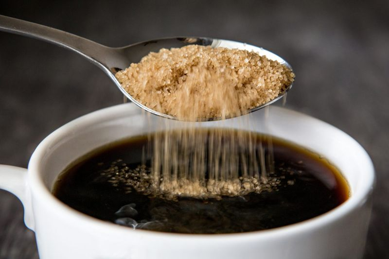 Use all types of sugar sparingly.