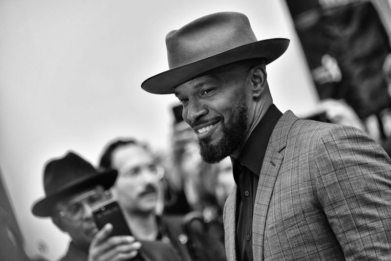 """Jamie Foxx attends the """"Just Mercy"""" premiere during the 2019 Toronto International Film Festival at Roy Thomson Hall on September 06, 2019 in Toronto, Canada."""