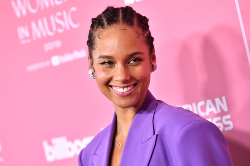LOS ANGELES, CALIFORNIA - DECEMBER 12: Alicia Keys attends Billboard Women In Music 2019, presented by YouTube Music, on December 12, 2019 in Los Angeles, California. (Photo by Emma McIntyre/Getty Images for Billboard)