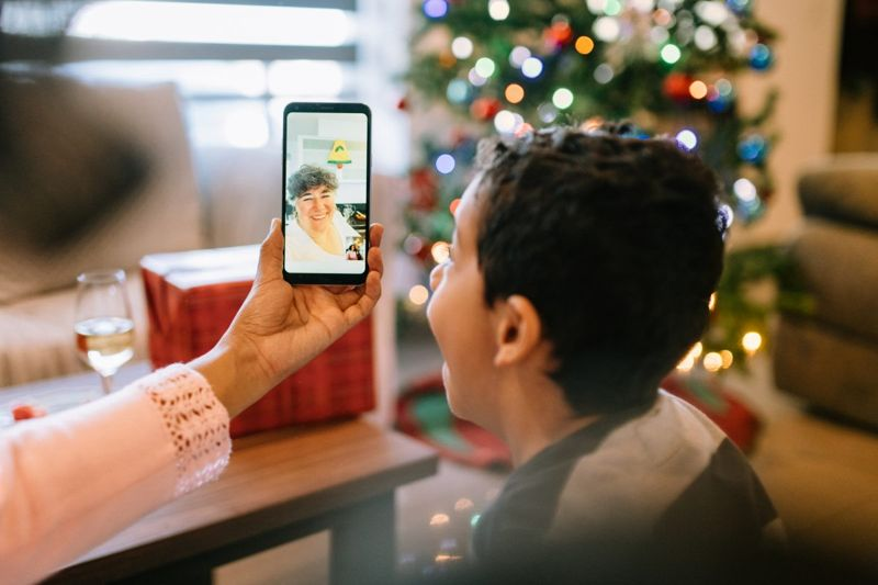 video conference christmas