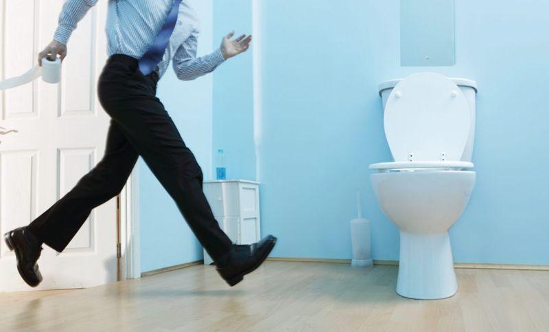 bowel preparation toilet