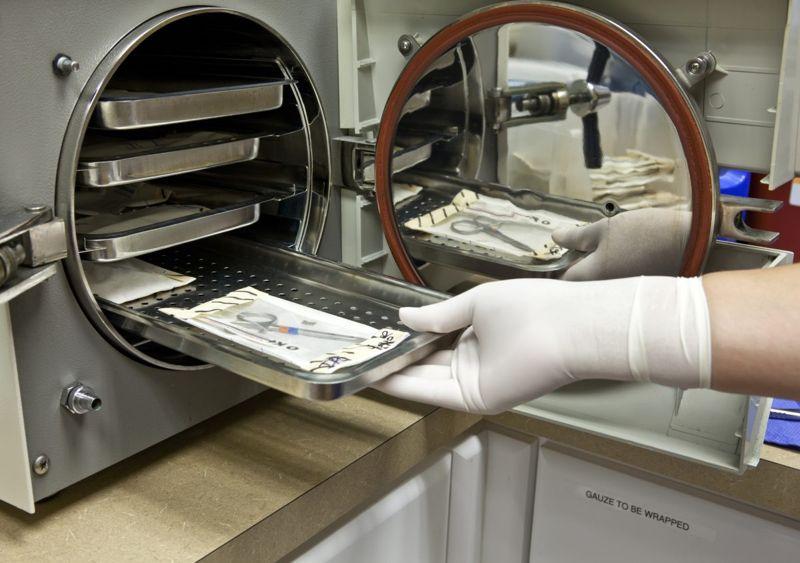 sterilized medical equipment