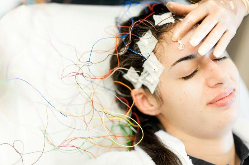EEG brain test