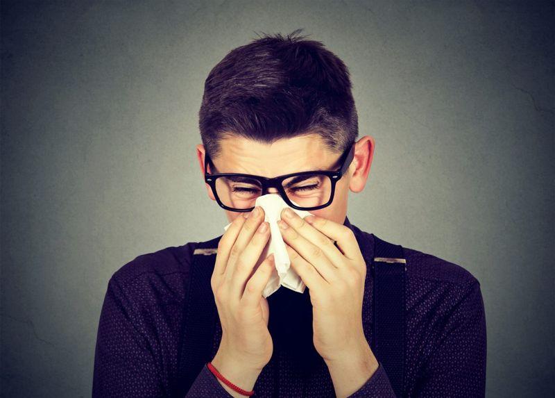 preventative salt water gargle respiratory