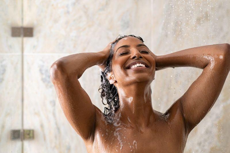 endorphins anti depressive shower