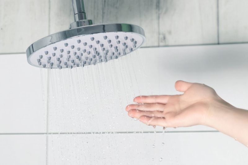 water temperature preference shower