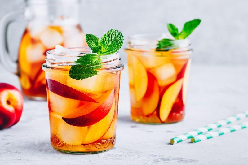 ceramides moisture skin peach tea