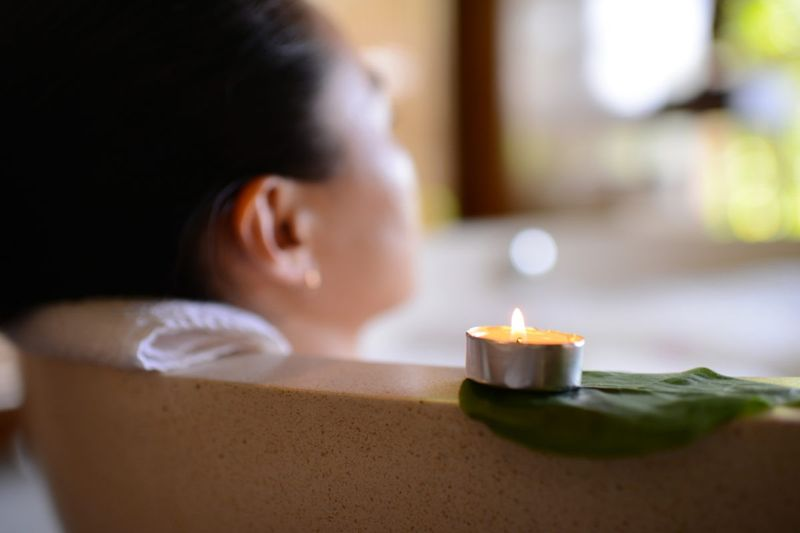 bacteria infection cleanse perineum bath