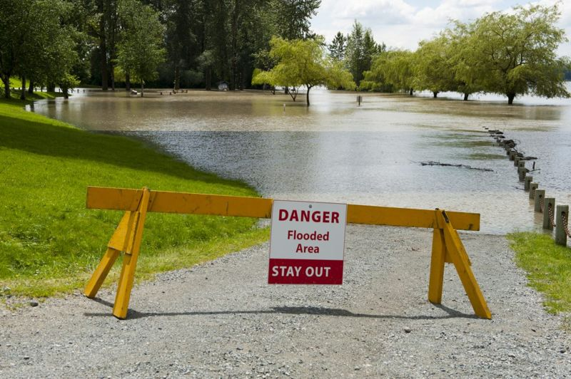 flooded park closed