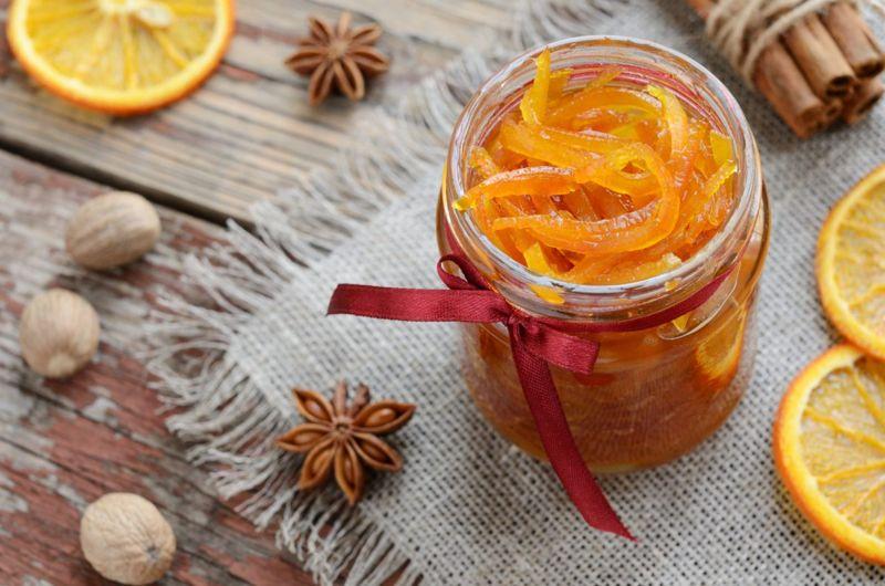 mineral, candied peel, citrus zest