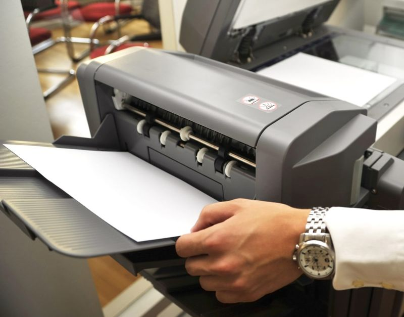 work printer issues