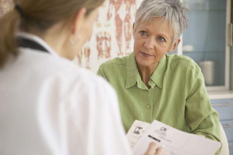 older female patient