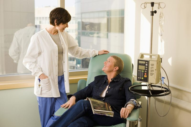 Treating Esophageal Cancer Radiation Chemotherapy