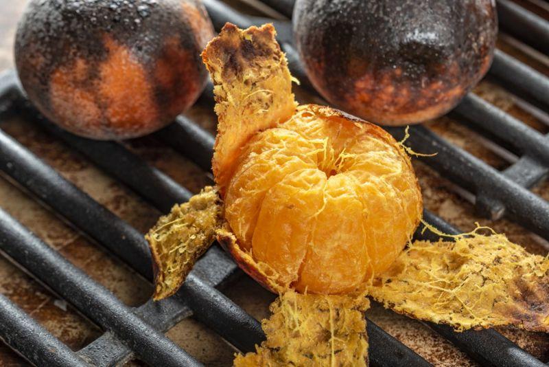 Oven baked oranges