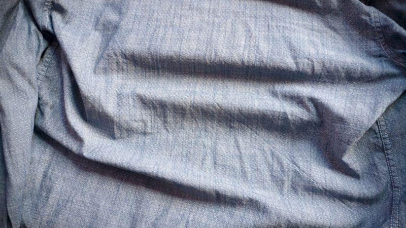 wrinkled fabric closeup