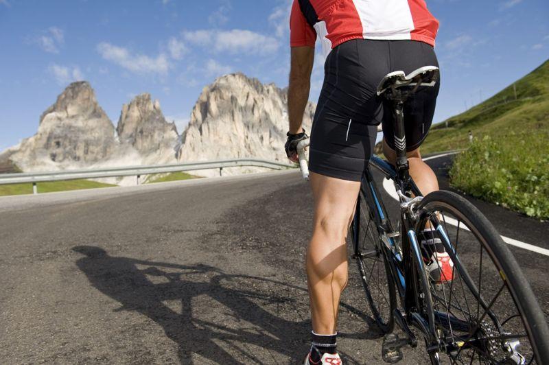 cyclist leg muscles