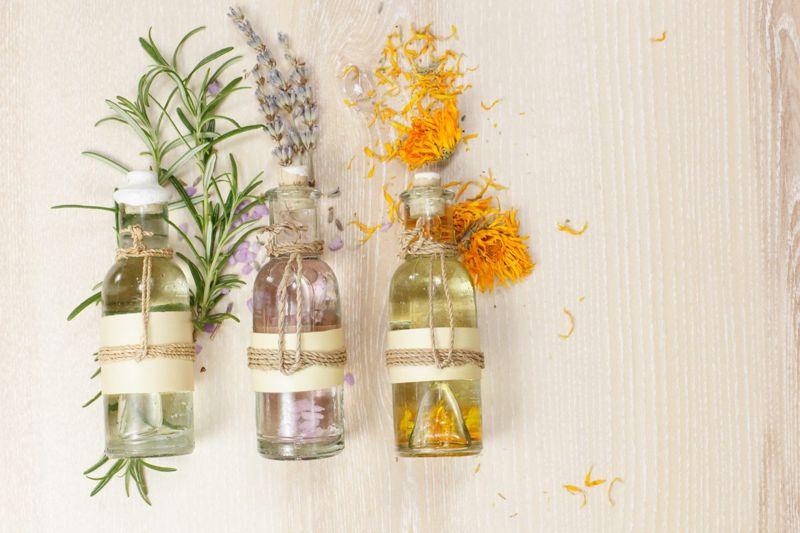 Essential oil bath