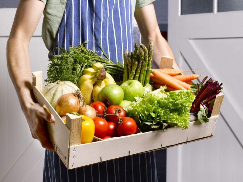 healthy diet fruits vegetables