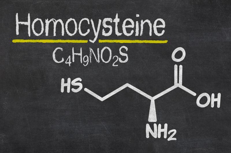homocysteine molecular structure drawing