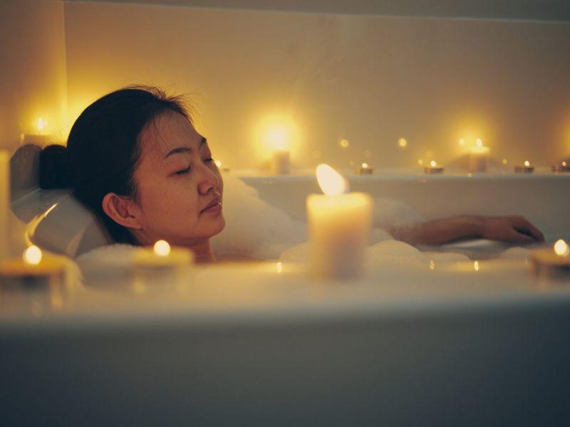 hot spring circulatory immune woman