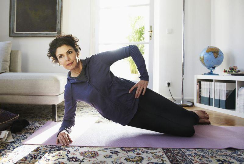 woman exercise yoga