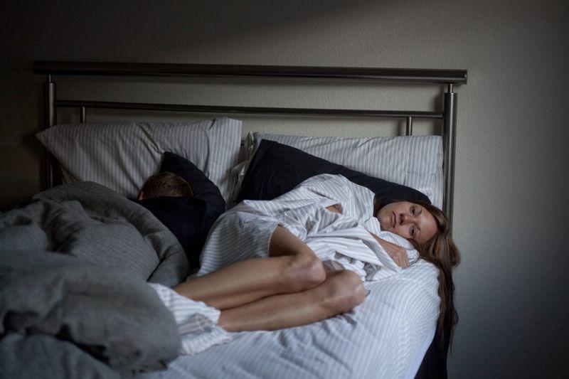 woman insomnia sleep issues