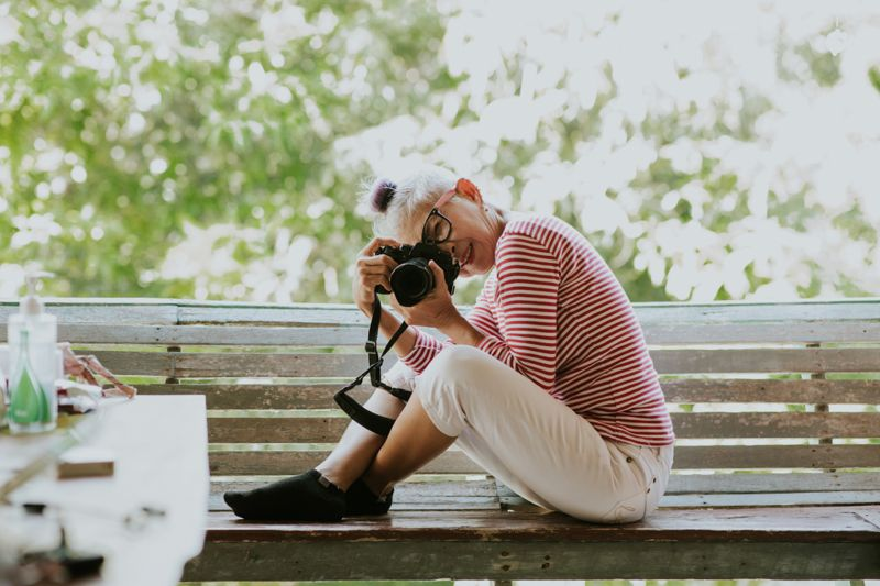 1 2 3 snap! Just become a Photographer after retirement