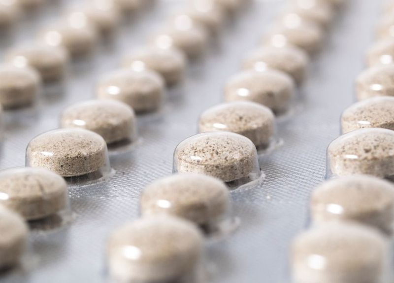 bladderwrack powder pills in bubble pack