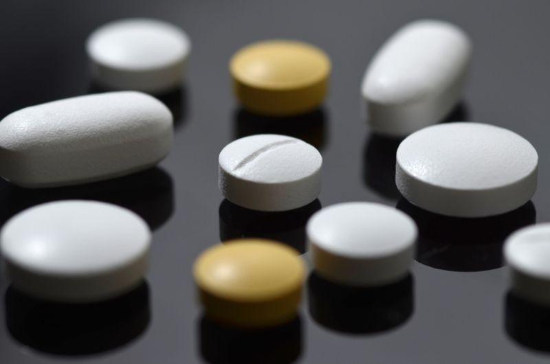 pills medications close up