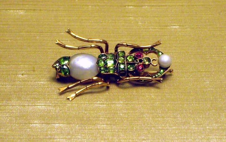 Fabergé Spider Brooch
