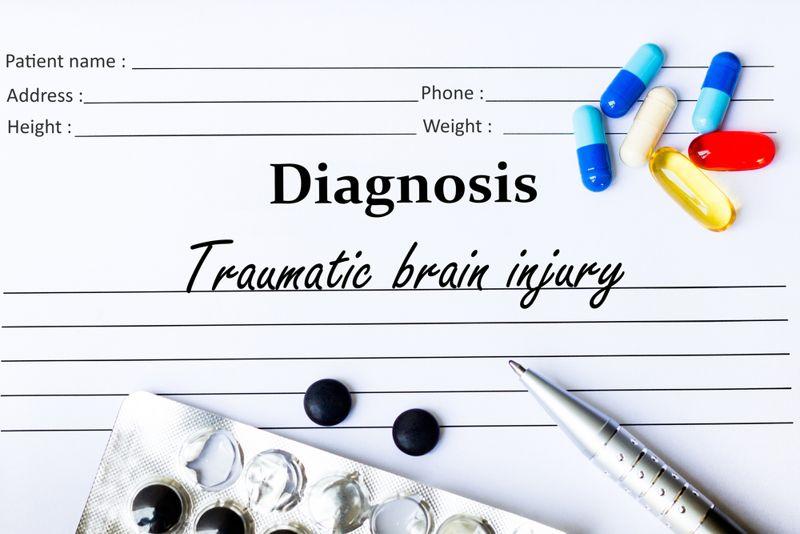 "diagnosis chart concept ""traumatic brain injury"""