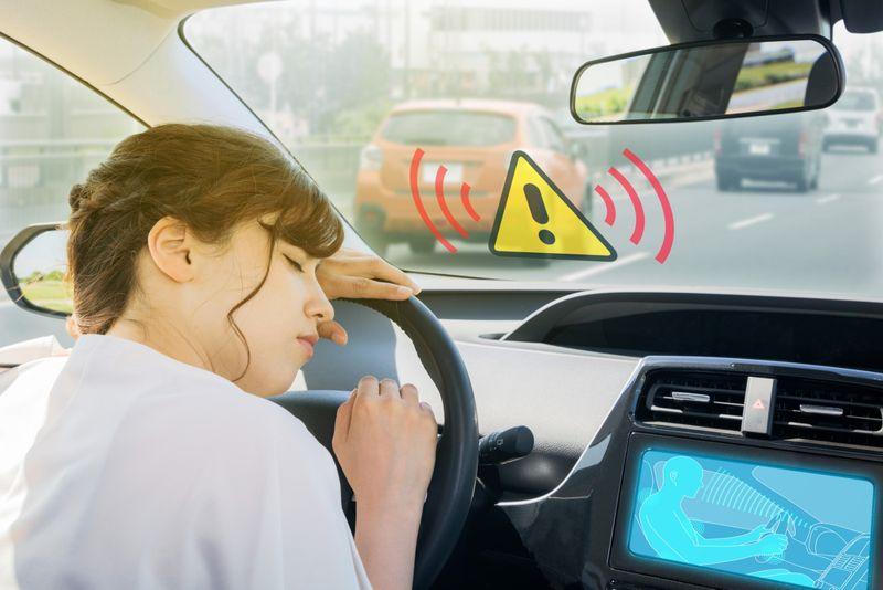 doze prevention apparatus. driver assistance system