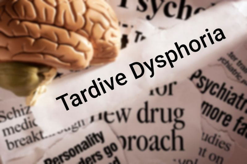 mental health concept image for tardive dysphoria