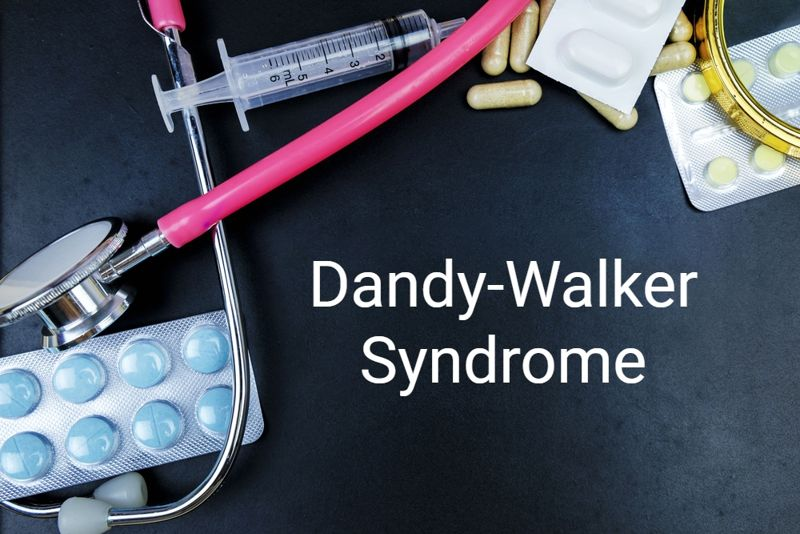 diagnosis concept for Dandy-Walker Syndrome
