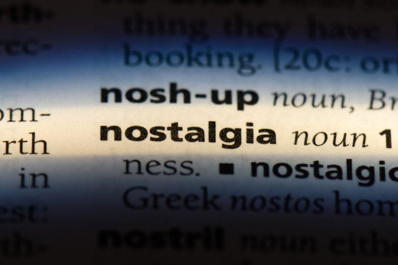dictionary definition concept of nostalgia