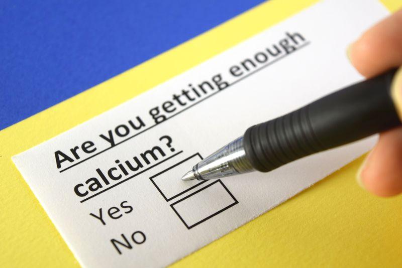 "questionairre concept ""getting enough calcium"""
