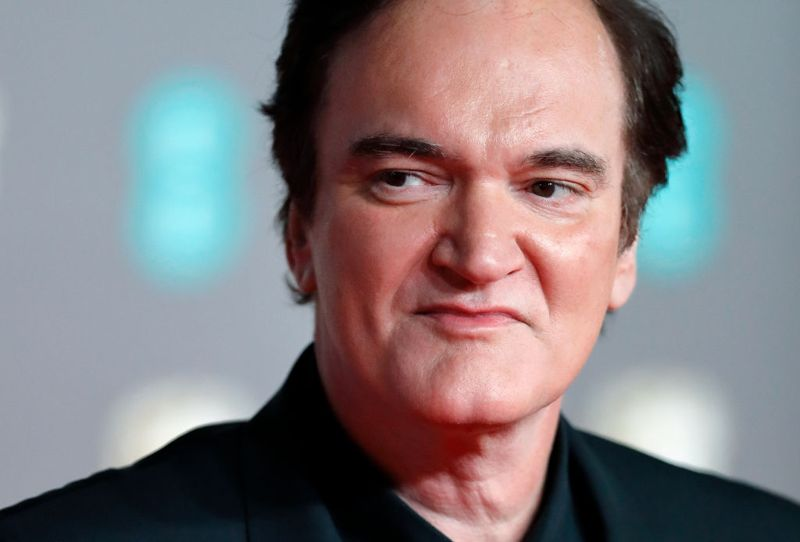 Quentin Tarantino attends the EE British Academy Film Awards 2020 at the Royal Albert Hall on February 2, 2020 in London, England.
