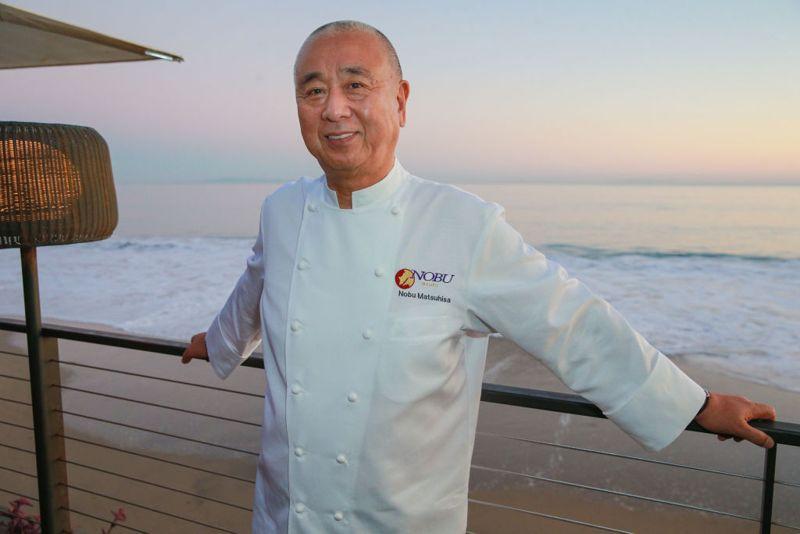 Chef Nobu Matsuhisa attends Surface Magazine Presents The 2017 Travel Issue: Celebratory Dinner with Nobu Matsuhisa at Nobu Malibu on October 26, 2017 in Malibu, California