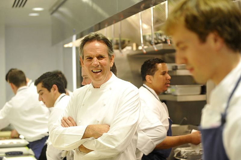 homas Keller attends the grand opening of Thomas Keller's Bouchon in Beverly Hills on November 16, 2009 in Beverly Hills, California.