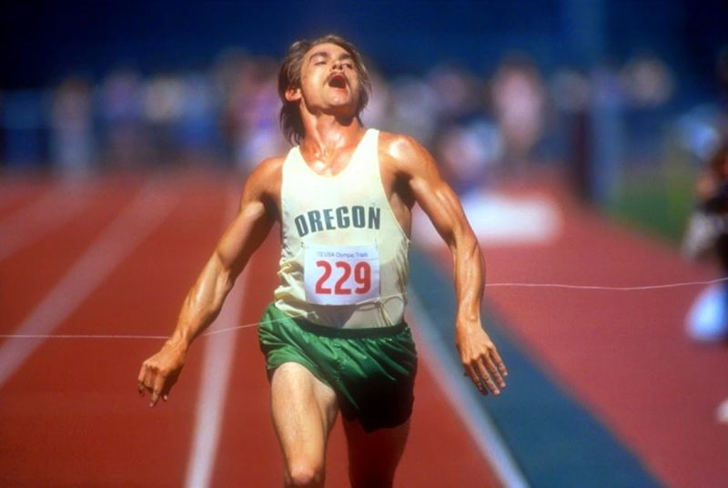 Steve Prefontaine finish line